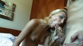 Hot Blonde Wants A Big Cock In Her Mouth
