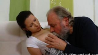 Irene Is Craving For Anal Sex With Old Man