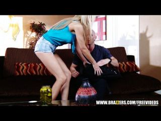 Busty Blond Milf Helps A Younger Man Get Laid