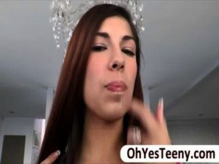 Super Hot Teen Ava Taylor Finally Stuffed Her Mouth A Foot Long Cock