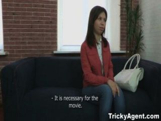 Tricky Agent - Pursuing A Dream, A Girl Gets Fucked By An Agent!