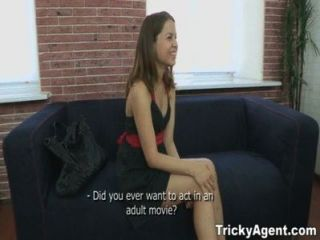 Tricky Agent - A Girl In A Black Dress Wants To Be Fuckeds