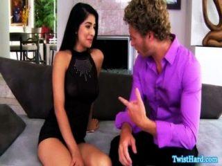 Megan Salinas Bouncing On Hard Cock