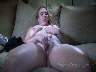 Beautiful Blonde Tries Porn