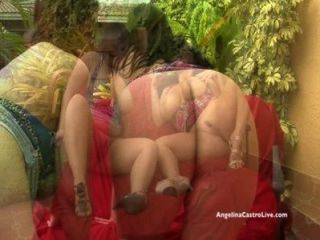 Angelina Castro & Lexxxi Lockhart Big Titted Bj Outside!