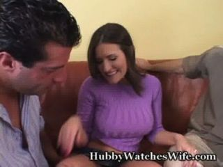 Sissy Hubby Gives Hot Wife To Friend