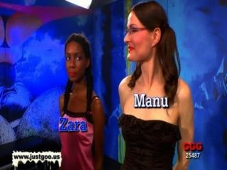Zara and manu sure know how to extract sperm using their mou 9