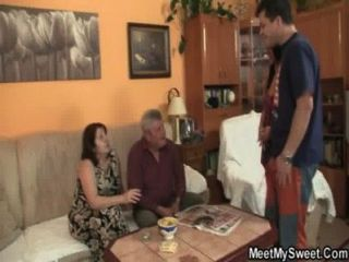 Dude Bits His Parents Fucking His Chick