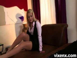 Vixenx Hot Blonde Fucked In The Ass By Her Shrink