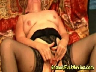 Granny And Her Hairy Snatch