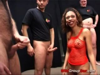 Kinky German Gets Massive Bukkake