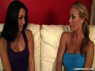 Hot Horny Teen Lesbians Grind On Each Other