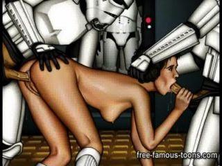 Star Wars Hentai Parody