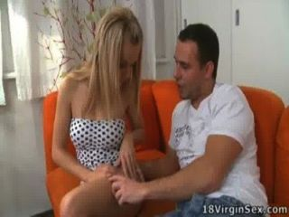 Gorgeous Blonde Naomi Gets Her First Time Sex