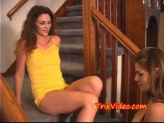 Bi Milf Mom Teaches Bi-teen Daughter