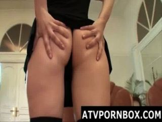 This Teen Takes A Really Big Cock Up In Her Ass