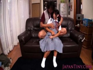Squirting Japanese Schoolgirl Loves Toys