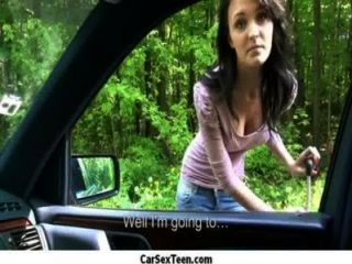 Amateur Teen Girl Hitch Hiking For A Ride And Gets The Ultimate Car Fucking 3