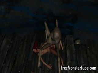Foxy 3d Babe Getting Fucked Hard By An Alien Spiderhigh 1