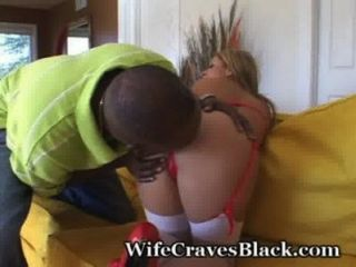 Hubby Films Hotwife With Huge Black Cock