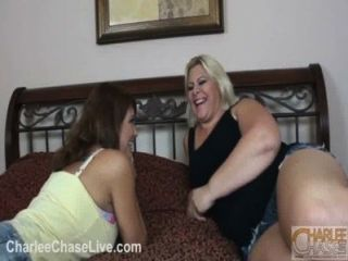 Charlee Chase And Seelah Eat Pussy!