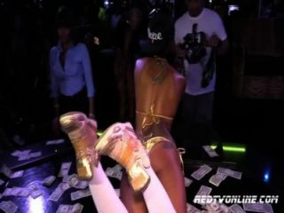 Porn Star Skin Diamonds Performing In A Strip Club