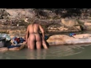 Brazilian Outdoor Sex On The River - Bahia
