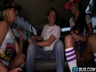 Pornstars Phoenix Marie & Ava Addams Take Over The 305bus And Fuck.2