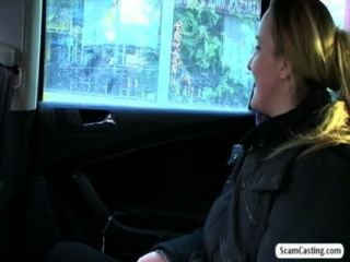 Amateur Jana Sucks And Fucks In The Backseat Of The Car