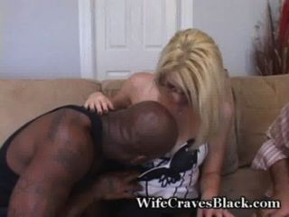Shy Wife Takes Thick Black Cock