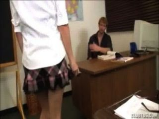 Jerking The Teacher
