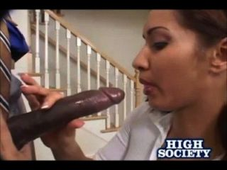 Latina Isis Love Takes In A Big Black Dick