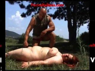 Muscular Man Fucks Redhead Fat