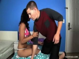Teen Latina Handjob Punishment