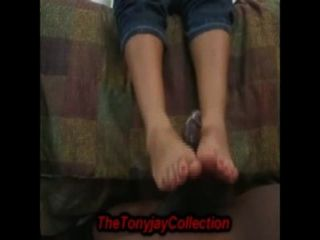 Footjob Cumshot Collection