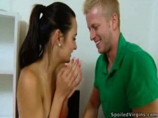 Cute Lora Inspected As A Virgin - Defloration