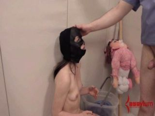 Anal Masochist Hung Upside Down And Abused