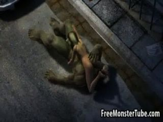 Foxy 3d Blonde Babe Gets Fucked Hard By The Hulk3-high 1