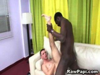 Latino Do Bareback Sex With Black Guy