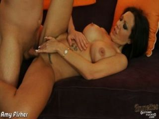 Brunette Amy Fisher Fucking