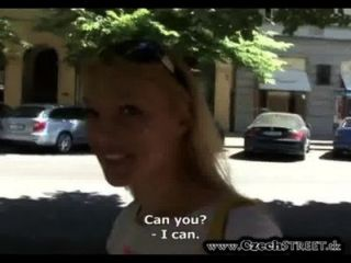 Super Hot Czech Chick Gets Pounded For Cash