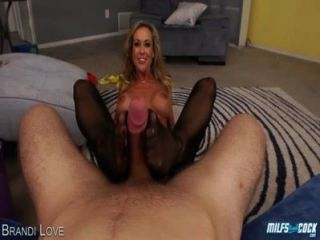 Milf Brandi Love Gives Bj In Pov