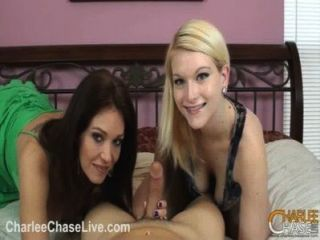 Charlee Chase Teaches Slut Teen To Suck Cock