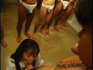 Bukkake Highschool Lesson 7 3/4 Japanese Uncensored Blowjob