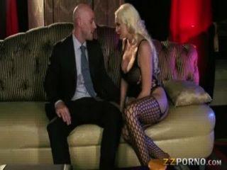 Huge Boobs Summer Brielle Pussy Slammed And Swallows Cum
