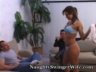 Wife Is Really Naughty For New Cock