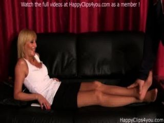 Foot Smelling Cock Stroking Video