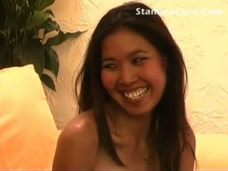 Cute Asian Gives In All Holes
