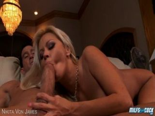 Blonde Milf Nikita Von James Fucking