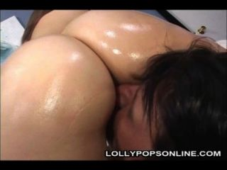 Hot Tia Sweets Gets Oiled Up And Then Gets Banged